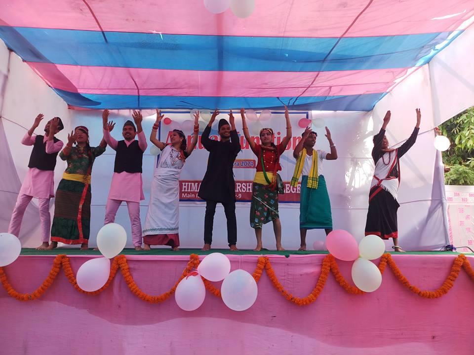 Himalaya Darshan College Cultural Program 2074